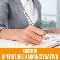 Corso di Operatore Amministrativo