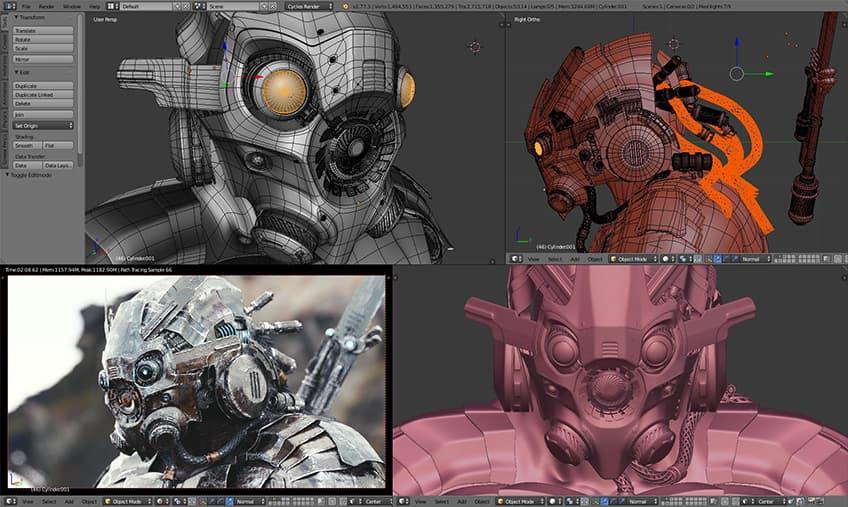 Corso di Game Design - Creazione di contenuti grafici con Blender