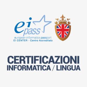Certificazioni Informatica / Lingua