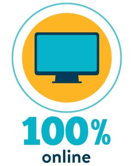 100% Online